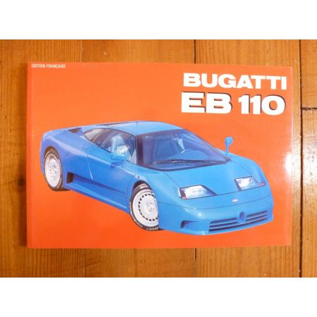 BUGATTI EB110 Livre