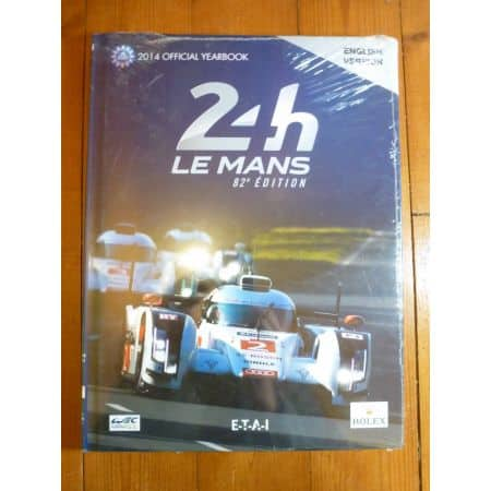 82eme 24h du Mans 2014 Livre EN