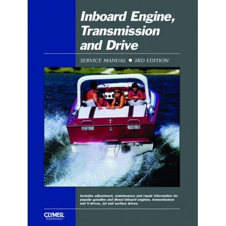 INBOARD ENGINES & DRIVES Revue technique Clymer Anglais