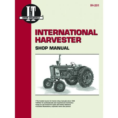 COMPL IH21 IH45 & IH23 Revue technique Clymer HARVESTER Anglais