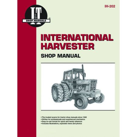 COMPL IH43 IH51 & IH47 Revue technique Clymer HARVESTER Anglais