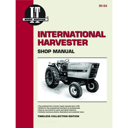SRS 3088 3288 3488 HYDRO + Revue technique Clymer HARVESTER Anglais