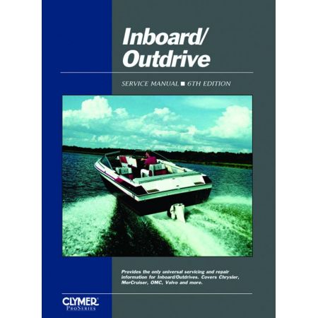 INBOARD/OUTDRIVE SERVICE Revue technique Clymer Anglais
