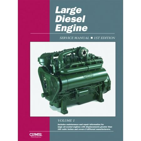 LARGE DIESEL ENGINE SERVICE Revue technique Clymer Anglais