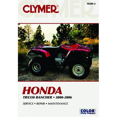 TRX350 00-06 Revue technique Clymer HONDA Anglais