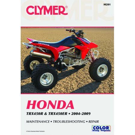 TRX450R TRX450ER 04- Revue technique Clymer HONDA Anglais