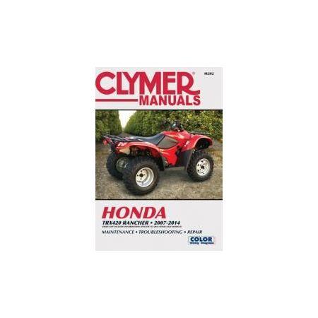 TRX420 RANCHER 07-14 Revue technique Clymer HONDA Anglais