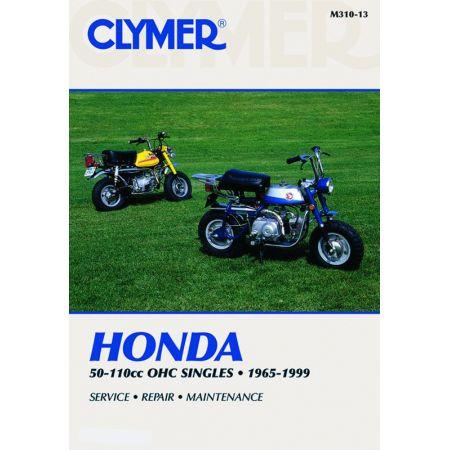 50-110CC OHC SINGLES 65-99 Revue technique Clymer HONDA Anglais