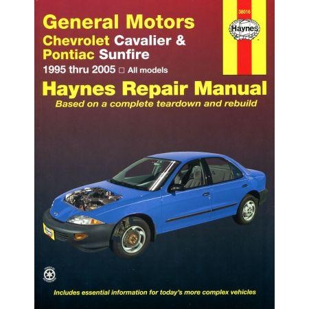 Cavalier Sunfire 95-05 Revue technique Haynes CHEVROLET Anglais