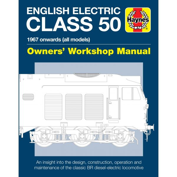 english electric class 50 diesel rthh6060 revue technique haynes anglais. Black Bedroom Furniture Sets. Home Design Ideas