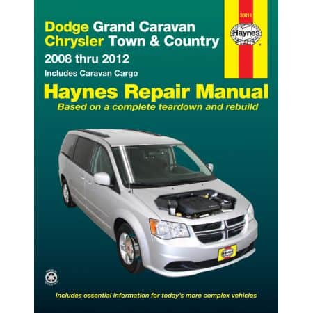 Grand Caravan 08-12 Revue technique Haynes DODGE CHRYSLER Anglais