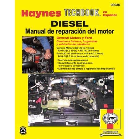 Diesel Manual de Reparacia_n del Revue technique Haynes Espagnol
