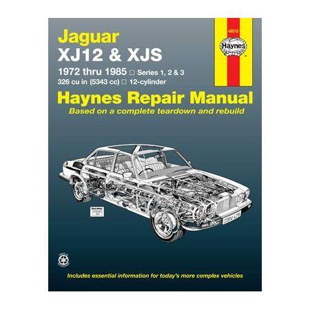 XJ12 XJS 72-85 Revue technique Haynes JAGUAR Anglais