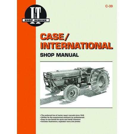 Mdls 385 485 585 685 885 Revue technique Haynes Clymer CASE Anglais