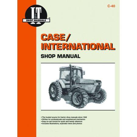 Mdls 7110 7120 7130 7140 Revue technique Haynes Clymer CASE Anglais