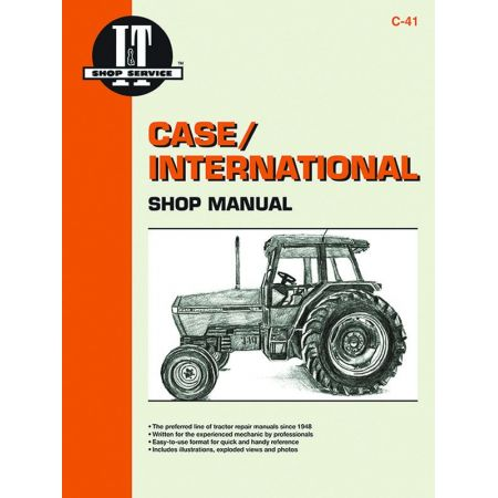 Mxm Mdls 5120 5130 5140 Revue technique Haynes Clymer CASE Anglais