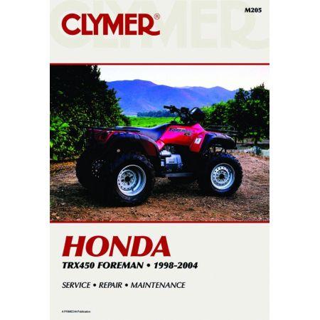 TRX450 Foreman 98-04 Revue technique Clymer HONDA Anglais