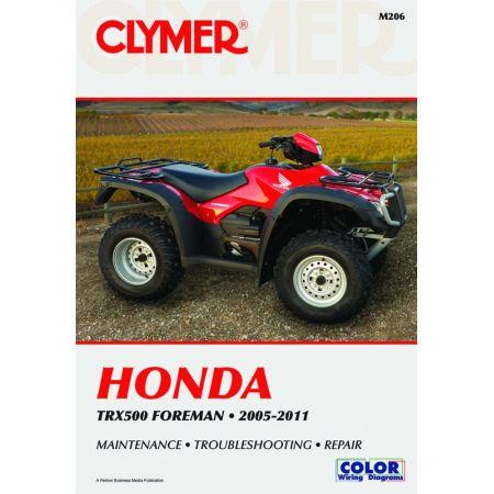 TRX500 Foreman 05-11 Revue technique Clymer HONDA Anglais