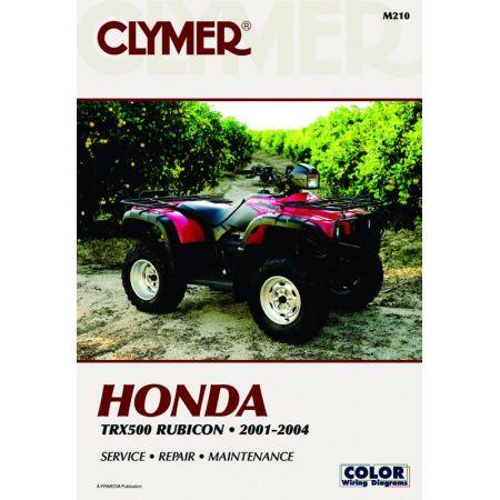 TRX500F 01-04 Revue technique Clymer HONDA Anglais