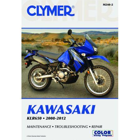 KLR650 08-12 Revue technique Clymer KAWASAKI Anglais