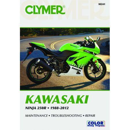Ninja 250R 88-12 Revue technique Clymer KAWASAKI Anglais