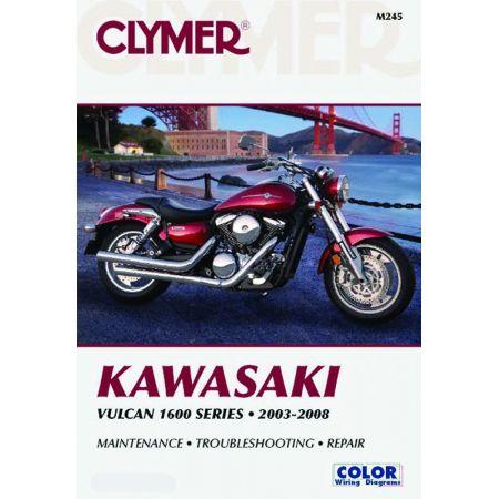 Vulcan 1600 Series 03-08 Revue technique Clymer KAWASAKI Anglais