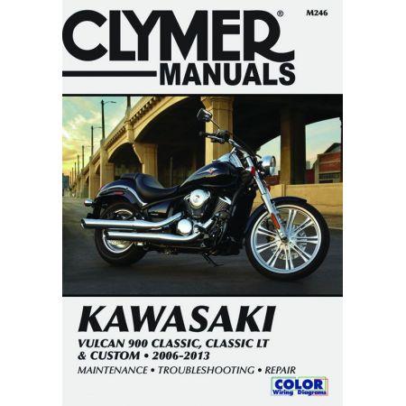 Vulcan Classic Custom 06-13 Revue technique Clymer KAWASAKI Anglais