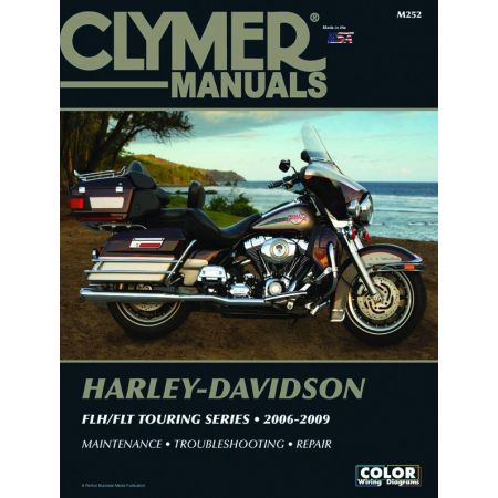 FLH/FLT Touring 06-09 Revue technique Clymer HARLEY Anglais