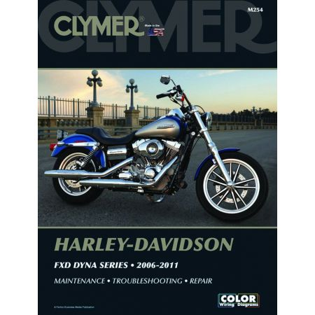 FXD Dyna 06-11 Revue technique Clymer HARLEY Anglais