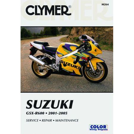 GSX-R600 01-05 Revue technique Clymer SUZUKI Anglais