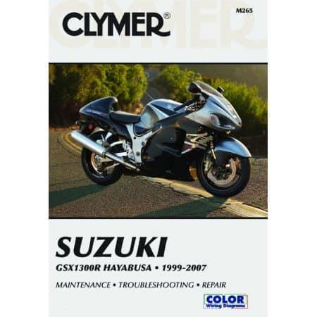 GSX-R 1300 Hayabusa 99-07 Revue technique Clymer SUZUKI Anglais