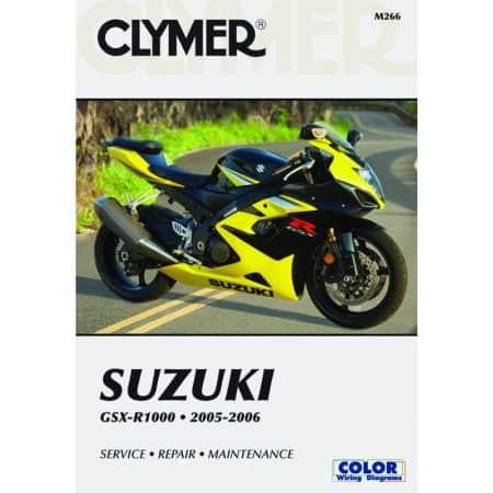 GSX-R 1000 05-06 Revue technique Clymer SUZUKI Anglais