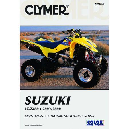 LT-Z400 03-08 Revue technique Clymer SUZUKI Anglais