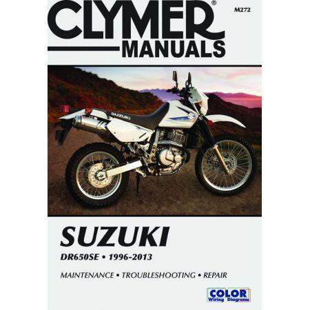 DR650SE 96-13 Revue technique Clymer SUZUKI Anglais