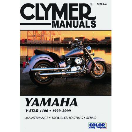 V-Star 1100 Revue technique Clymer YAMAHA Anglais