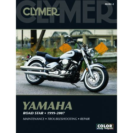 Road Star 99-07 Revue technique Clymer YAMAHA Anglais