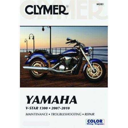 V-Star 1300 07-10 Revue technique Clymer YAMAHA Anglais