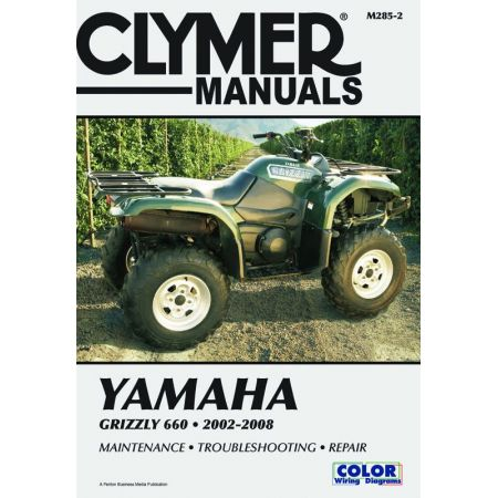 Grizzly 660 02-08 Revue technique Clymer YAMAHA Anglais