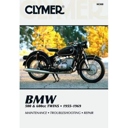 500 & 600cc Twins 55-69 Revue technique Clymer BMW Anglais