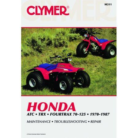 ATC TRX 4trax 70-125 70-87 Revue technique Clymer HONDA Anglais