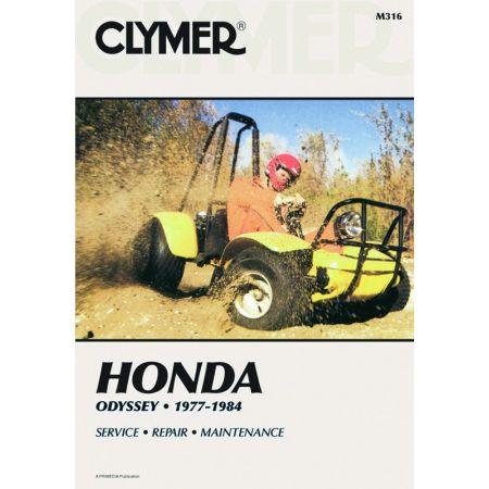 Odyssey 77-84 Revue technique Clymer HONDA Anglais
