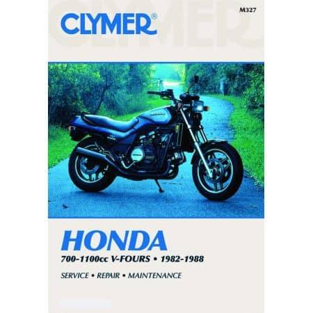 700-1100cc V-Fours 82-88 Revue technique Clymer HONDA Anglais