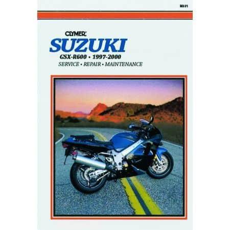 GSX-R 600 97-00 Revue technique Clymer SUZUKI Anglais