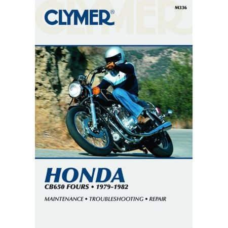 CB 650 Fours 79-82 Revue technique Clymer HONDA Anglais