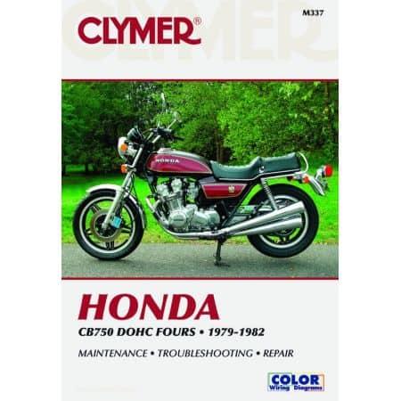 CB 750 DOHC Fours 79-82 Revue technique Clymer HONDA Anglais
