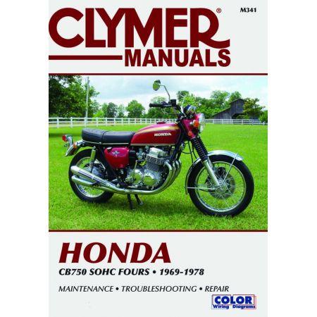 CB 750 SOHC Fours 69-78 Revue technique Clymer HONDA Anglais