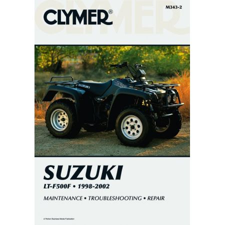 LT-F500F 98-02 Revue technique Clymer SUZUKI Anglais
