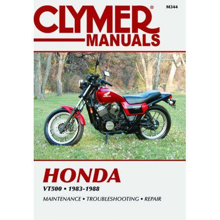 VT1100 Series 95-07 Revue technique Clymer HONDA Anglais Etat Sur Commande 15