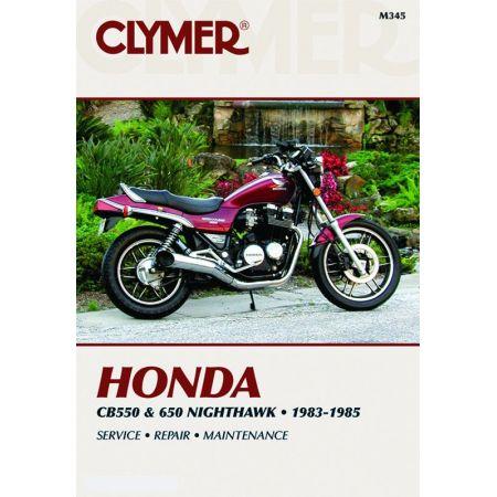 CB 550 & 650 83-85 Revue technique Clymer HONDA Anglais