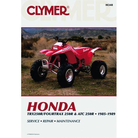 4Trx & ATC 250R 85-89 Revue technique Clymer HONDA Anglais